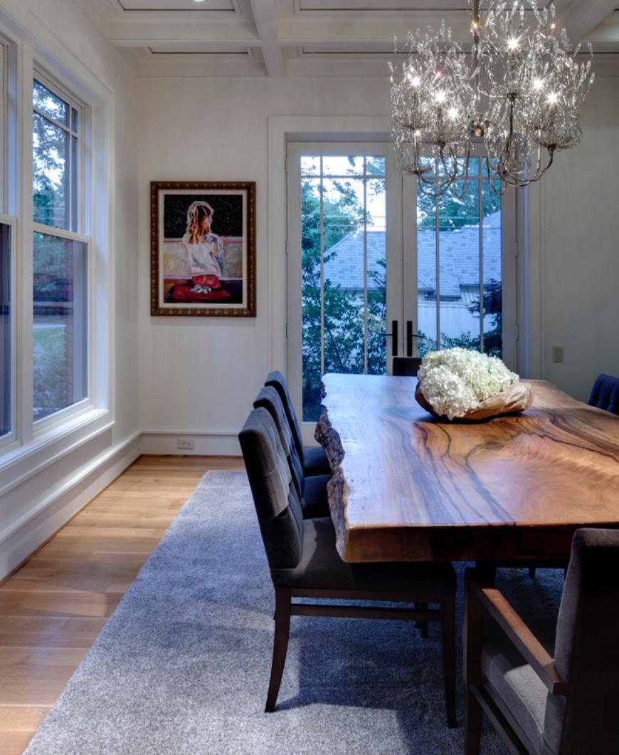 Solid Wood Slab Table / Herman Furniture Singapore