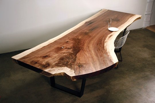 Y Shaped Suar Wood Dining Table / Herman Furniture Singapore