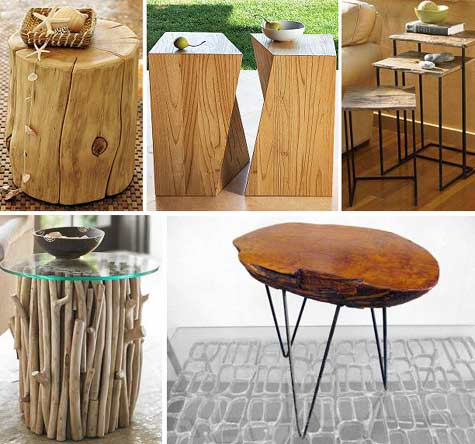 Raw Wood Features / Herman Furniture Singapore