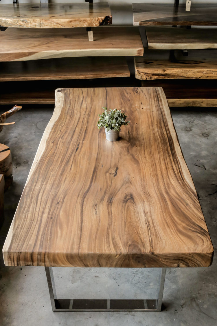 Suar table top x herman furniture singapore