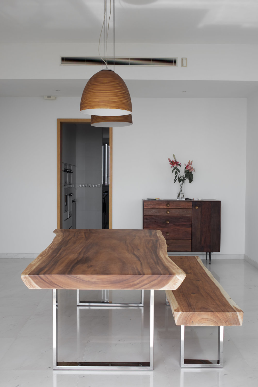 Solid Wood Dining Table // Herman Furniture Singapore.jpg