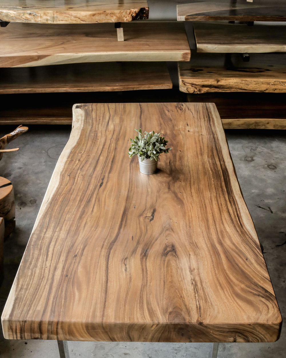 Herman Furniture Singapore Solid Wood Slabs Specialist