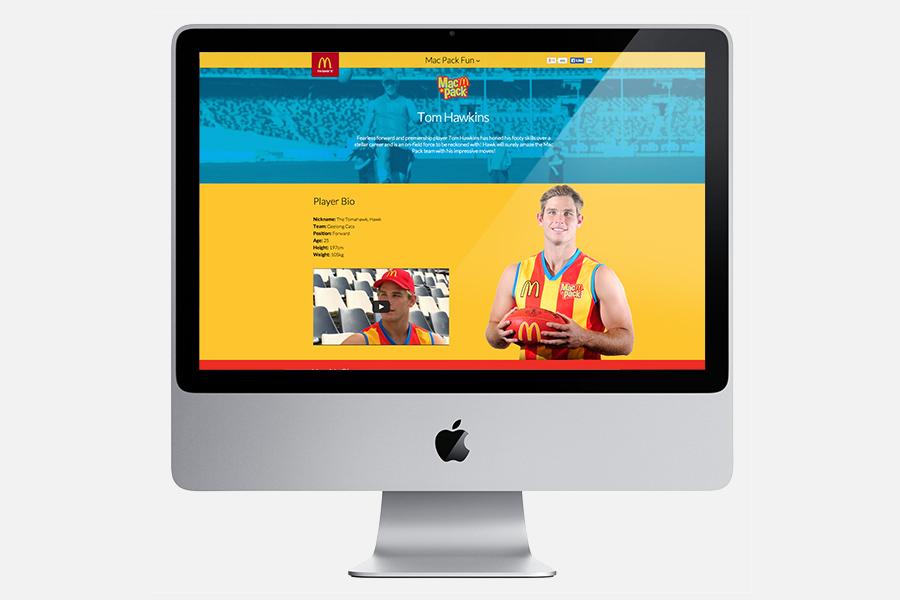 Desktop Ambassador Page - Tom