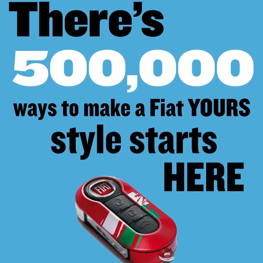 Fiat 500 -- Print Campaign