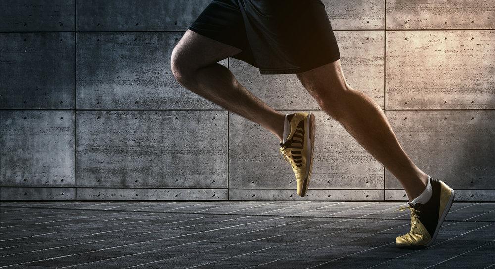 running in motion