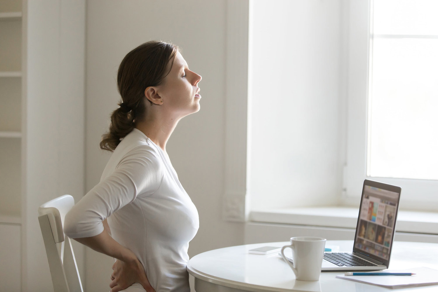 is my back pain caused by stress