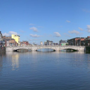 Cork City View and River