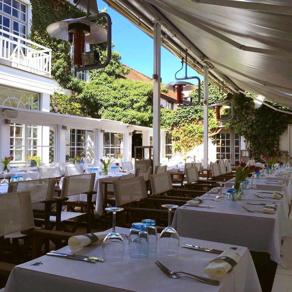 Le crabe fant me guide des terrasses bruxelles for Restaurant avec jardin paris