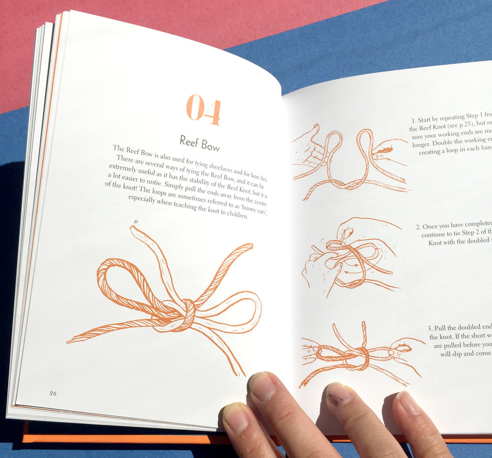 40 Knots and How to Tie Them illustrations by Maria Nilsson