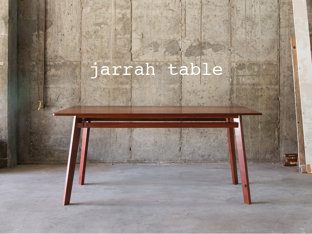 jarrah table