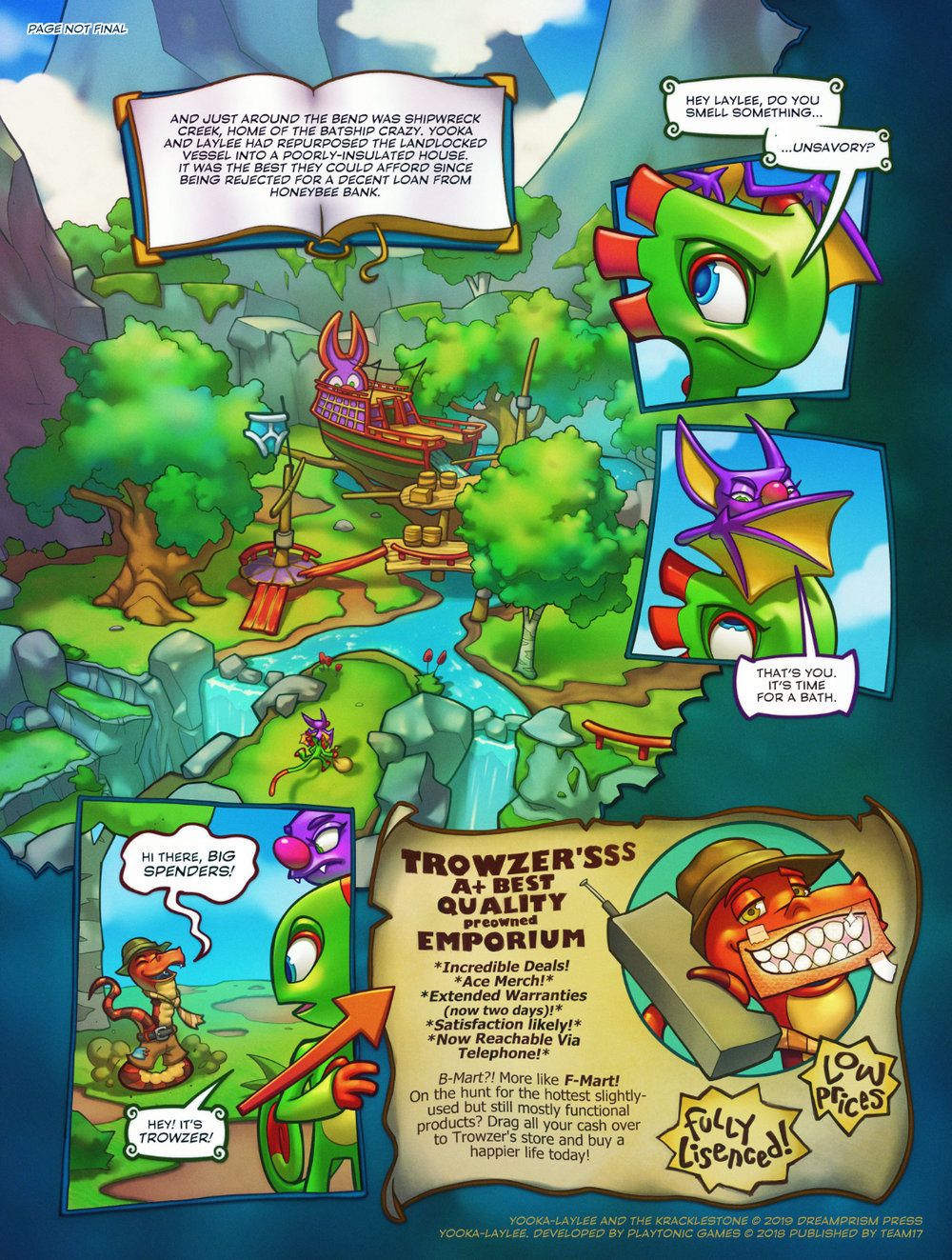 Yooka-Laylee and the Kracklestone Dreamprism Press 8.jpg