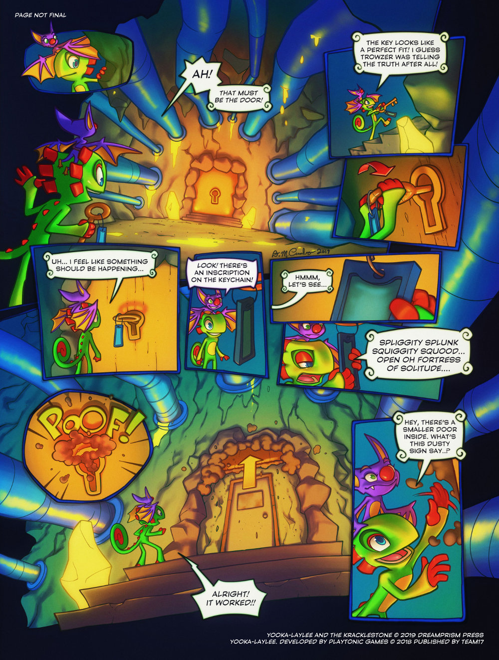 Yooka-Laylee and the Kracklestone Dreamprism Press 2.jpg