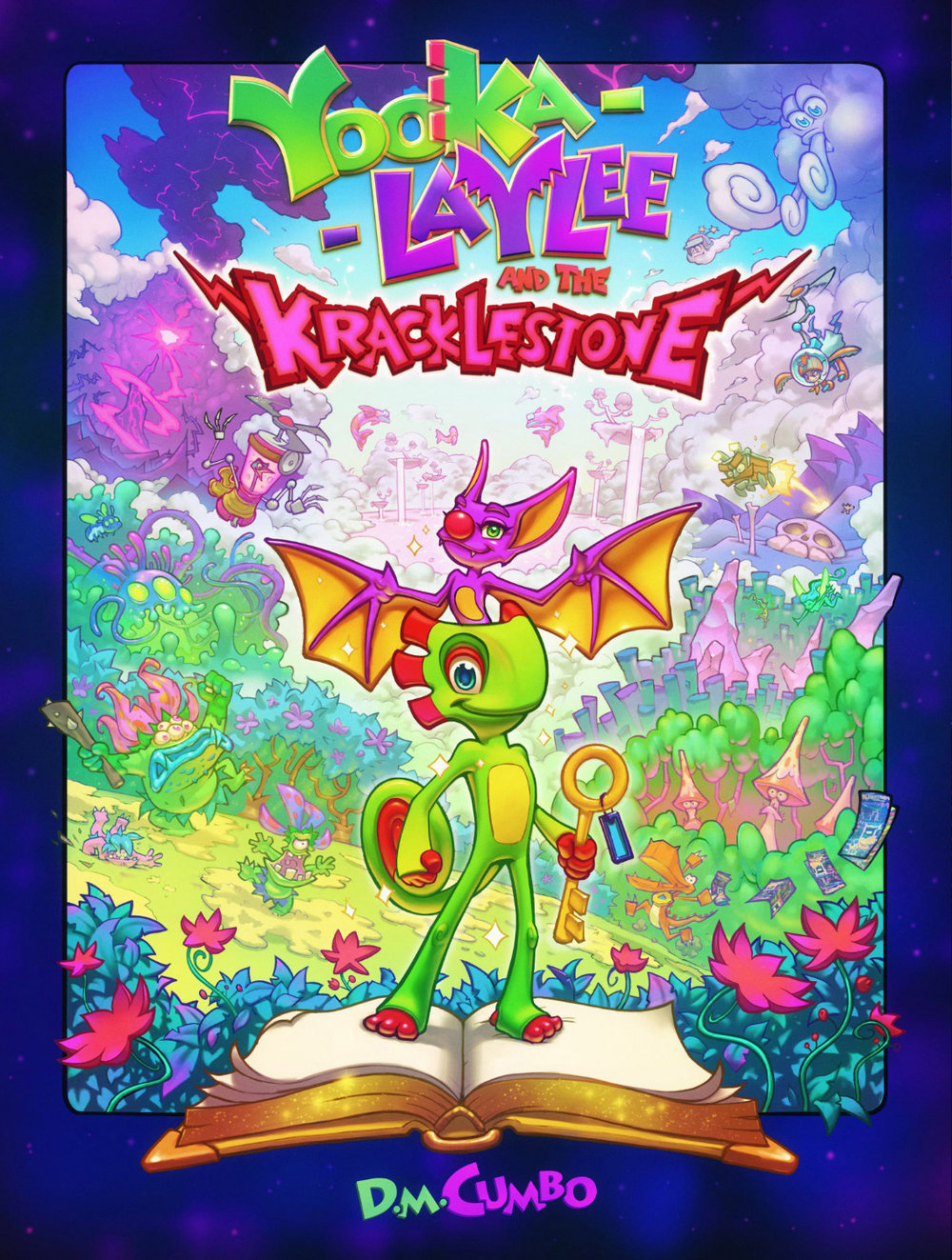 Yooka-Laylee and the Kracklestone Dreamprism Press cover.jpg