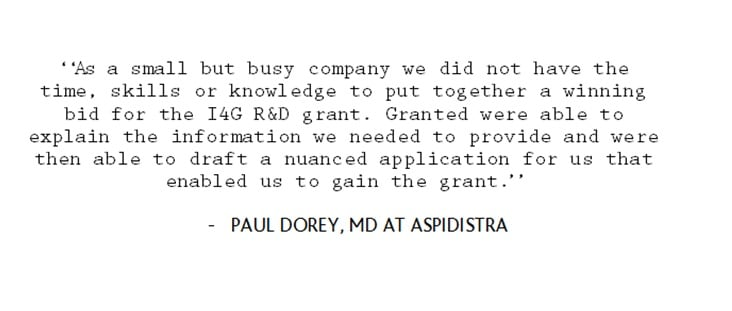 Paul Dorey Aspidistra testimonial.jpg