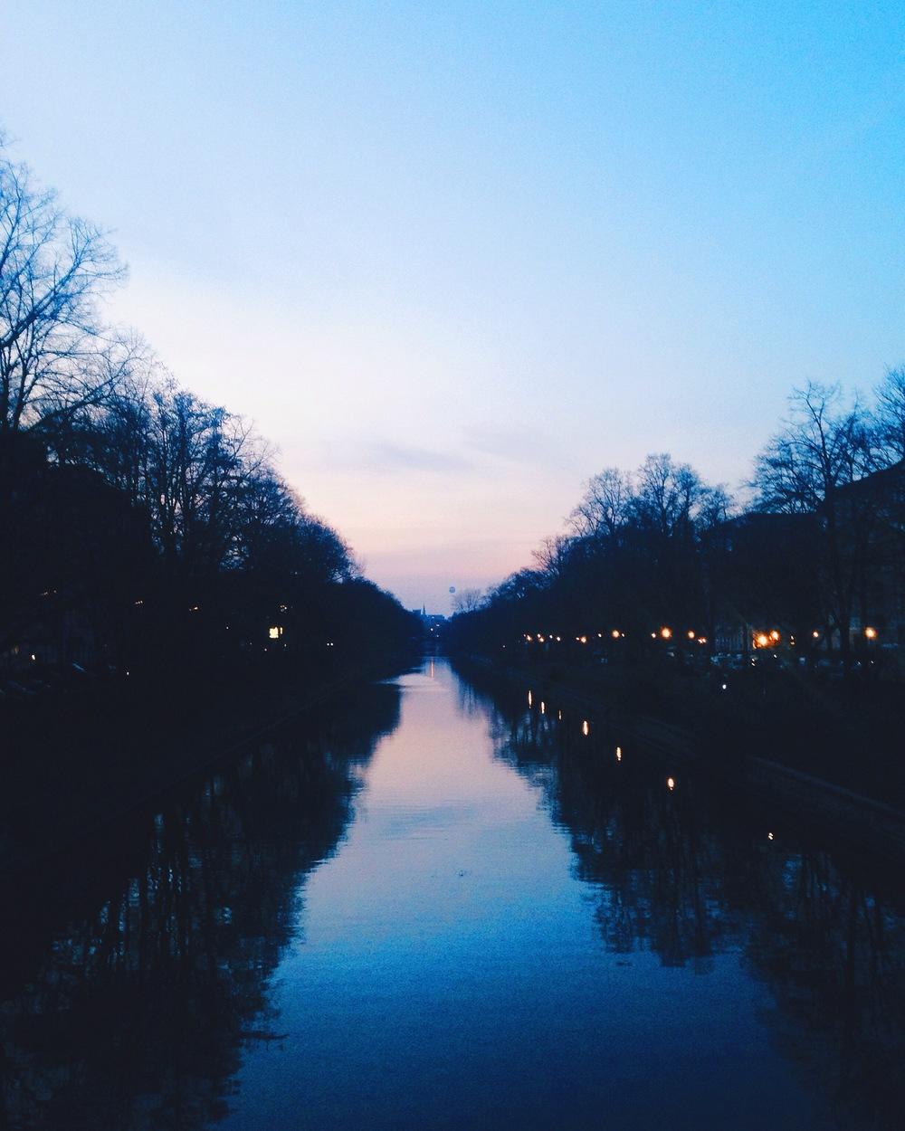 The canals of Kreuzberg