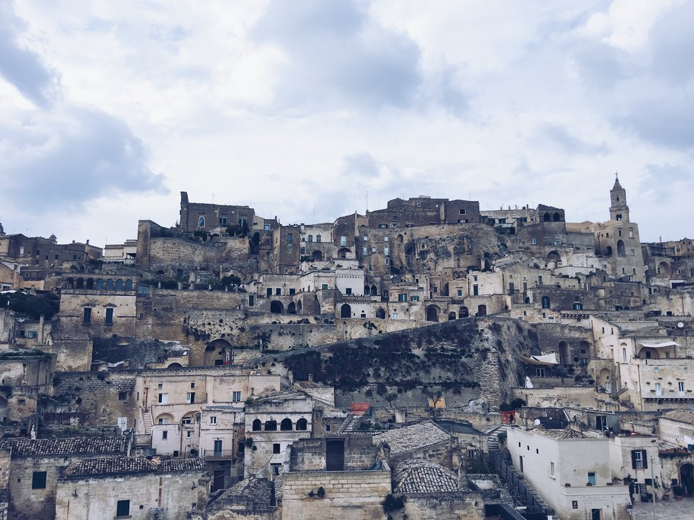 Matera- An UNSECO World Heritage Site (technically in the Basilicata district)