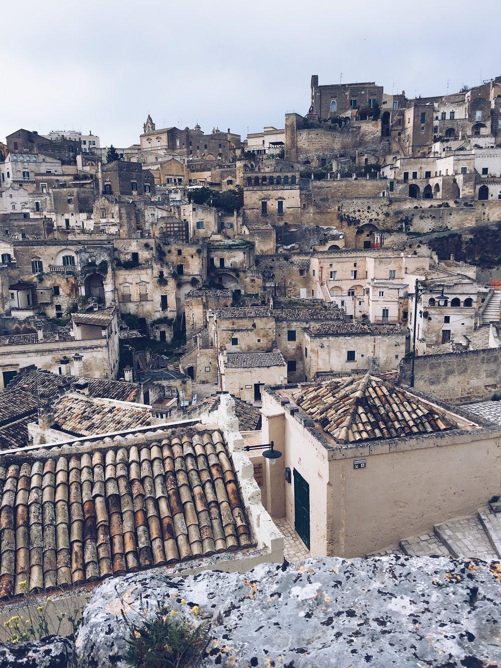 Matera rooftops