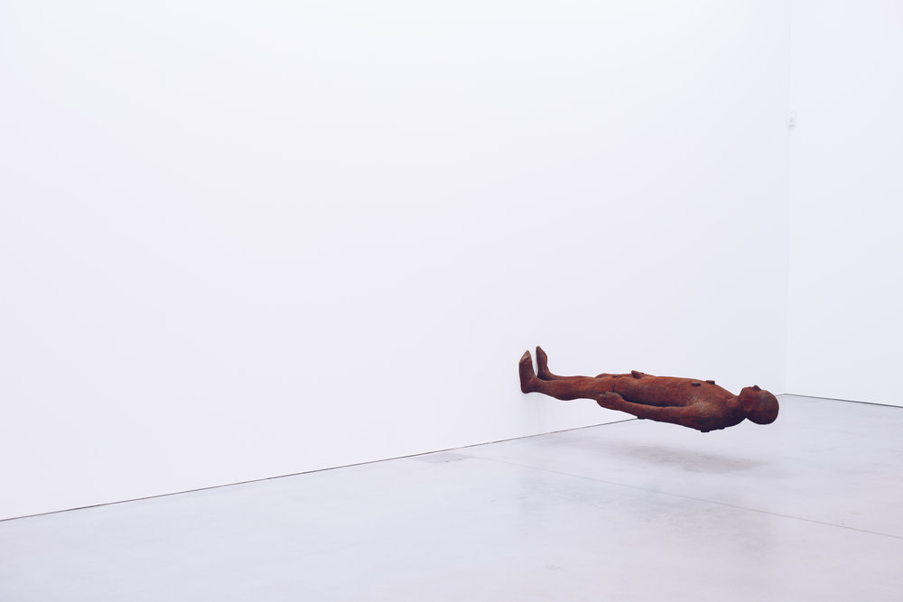 The Antony Gormley exhibition SUBJECT runs unto 27th August