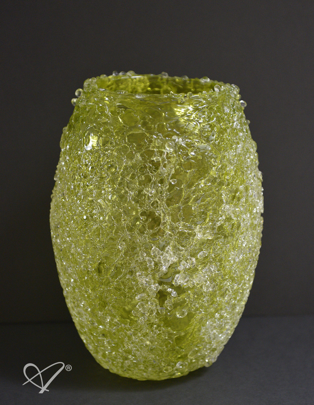 Gaïa™ Tall Candle Holder in Lime