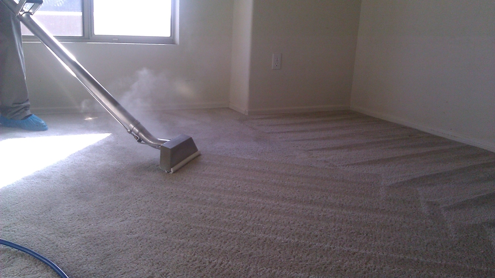We use the most powerful suction available. This makes sure the water is fully extracted from you carpets.