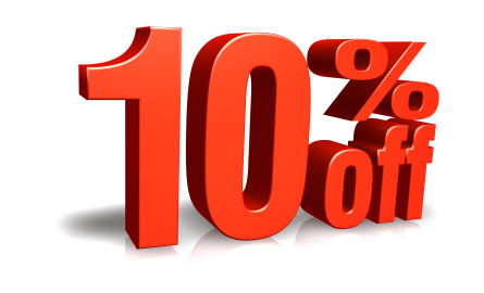 Don't miss it! 10% off any service! - All of January for ...