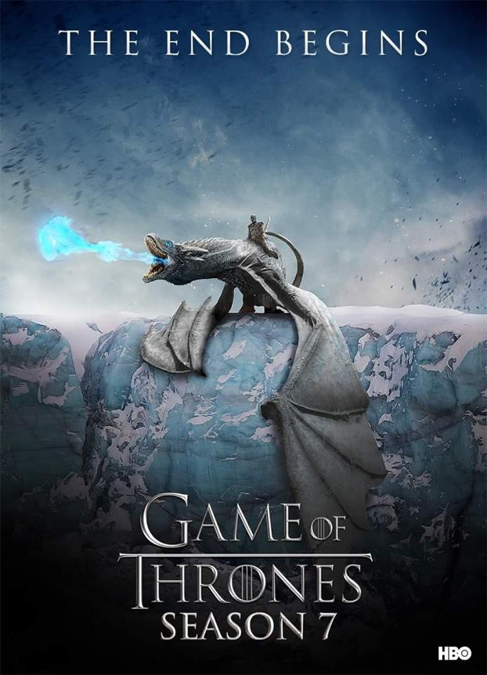 "Game of Thrones fans have grown so impatient for the return of their favorite series they started creating their own Season 7 posters, such as the one above. Many of these fan posters used the tagline ""The End Begins."""
