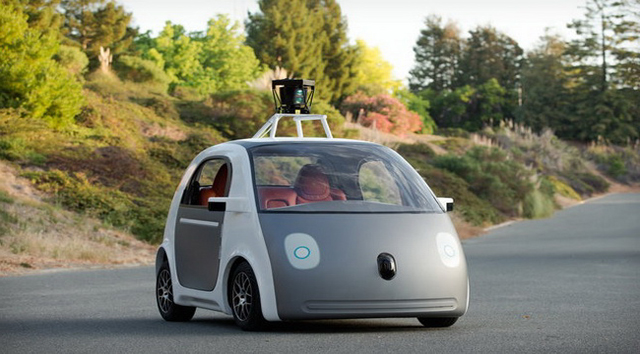 Google's cute driverless cars will soon venture off Google's campus and onto the roads around Cupertino. Although they'll be limited to about 25 miles an hour, they'll be the first completely driverless cars to mix it up with regular traffic. Google has said it will commercialize the car as soon as 2017.
