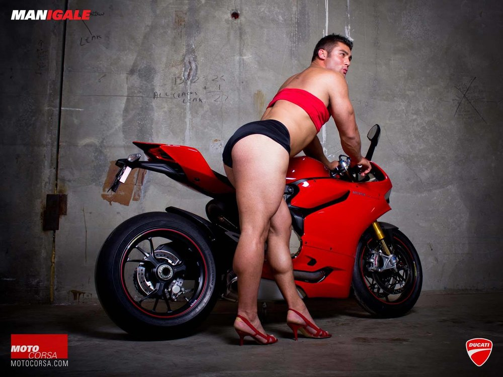 MotoCorsa's 'Manigale' calendar spoof was full of photos that you may wish to unsee, but it was a global viral hit.