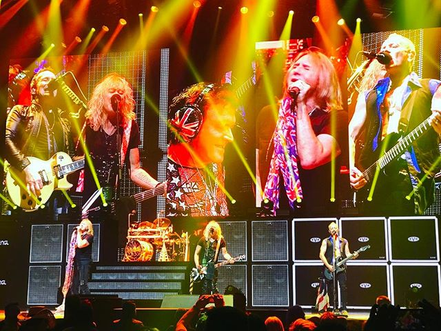 "April 14th #Baltimore #RoyalfarmsArena. Had an amazing time rocking out to @defleppard . Only regret is this was the first time I got to see them perform. All I got to say, ""And there will be a next time..."""