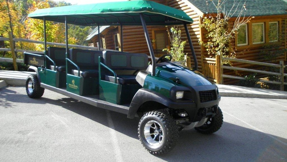 The perfect vehicle for hotels, resorts and beach resorts as this vehicle can navigate any terrain with ease.