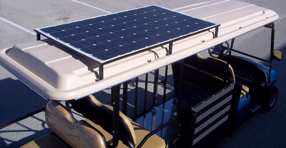 Give yourself 5-7 miles of free cruising range a day without tapping into your batteries with our premier solar canopies.