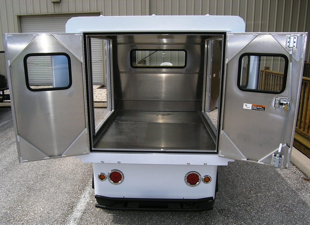 Utility Cart with Van Box