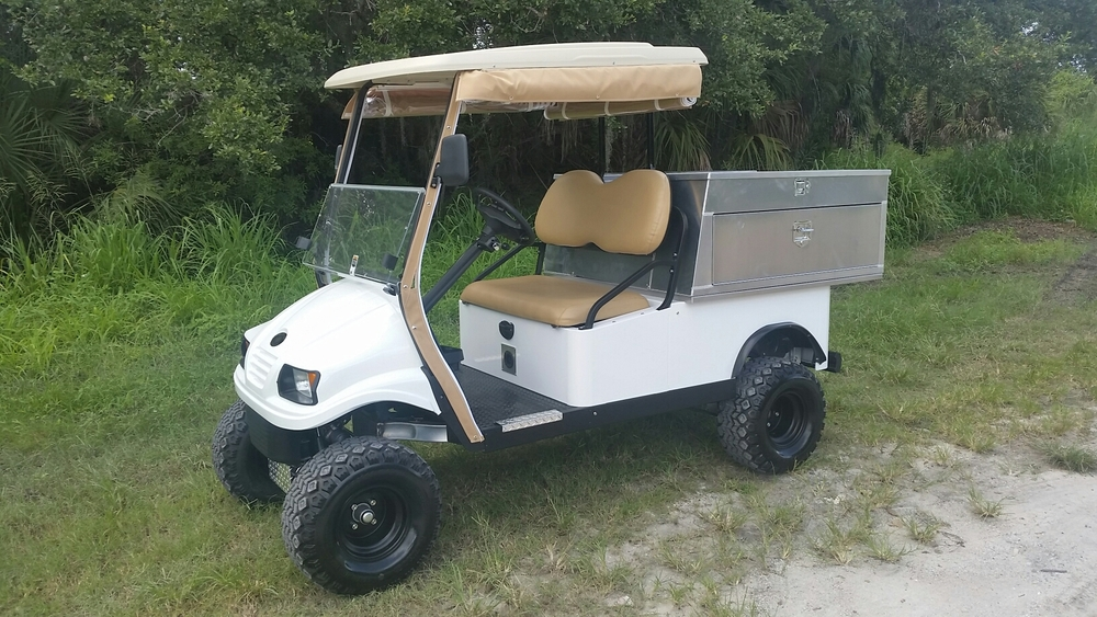 Featured with Roll Down Canvas Enclosure, Lift Kit & ATV Tires