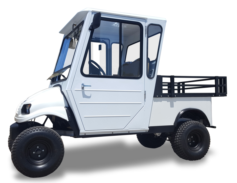 Shown with optional Aluminum Enclosure & Lift Kit