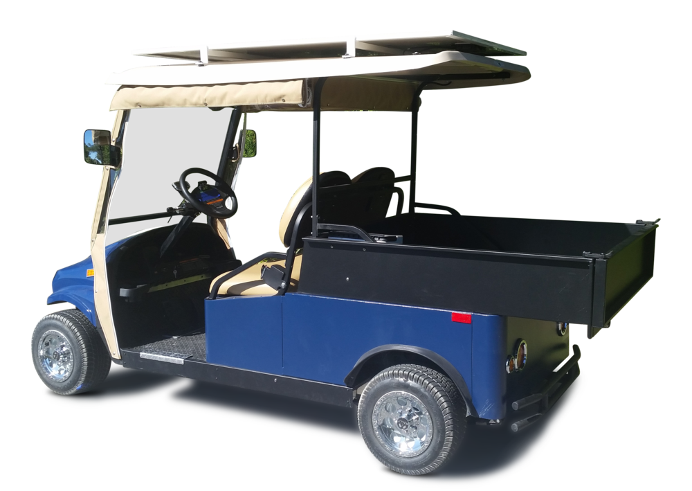 Shown with optional Solar Panel Canopy & Canvas Enclosure