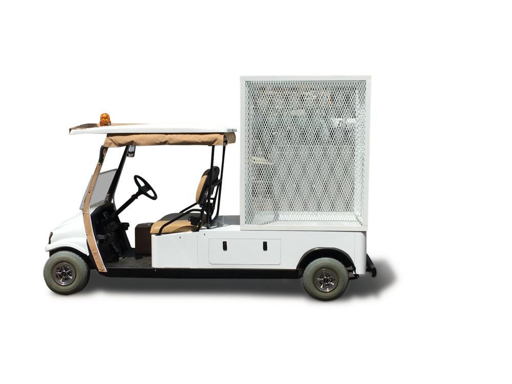 Utility Buggy with Custom Van Cage