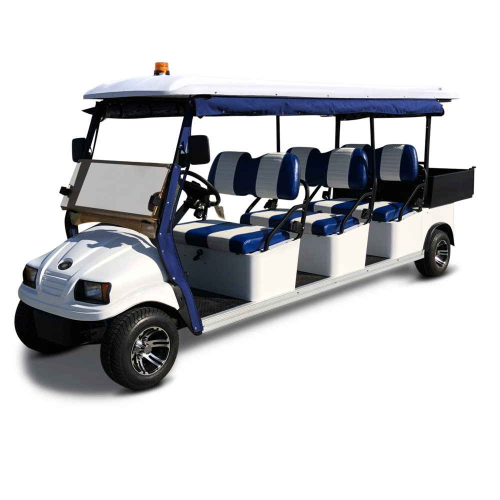 Shown with optional two-tone seats &roll-down enclosure