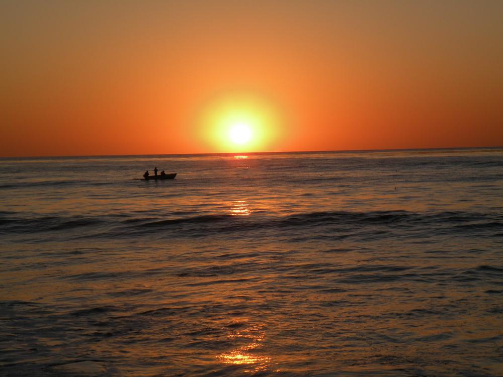 sunset california