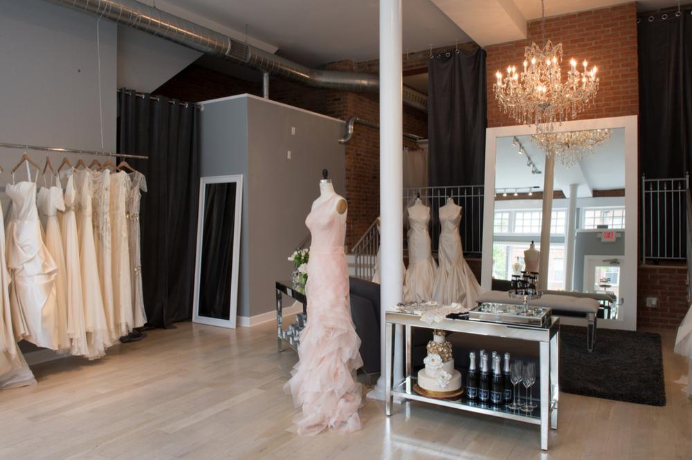 Big Rock Bridal Atelier - Intimate Bridal Boutique in Columbus, Ohio (Short North)