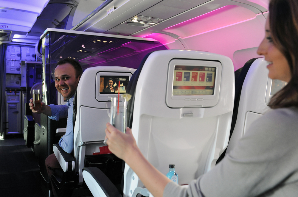 Think like a bartender (image courtesy of Virgin America)