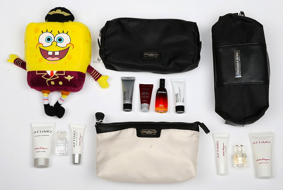 How can you go wrong with Spongebob (From Qatar Airways)