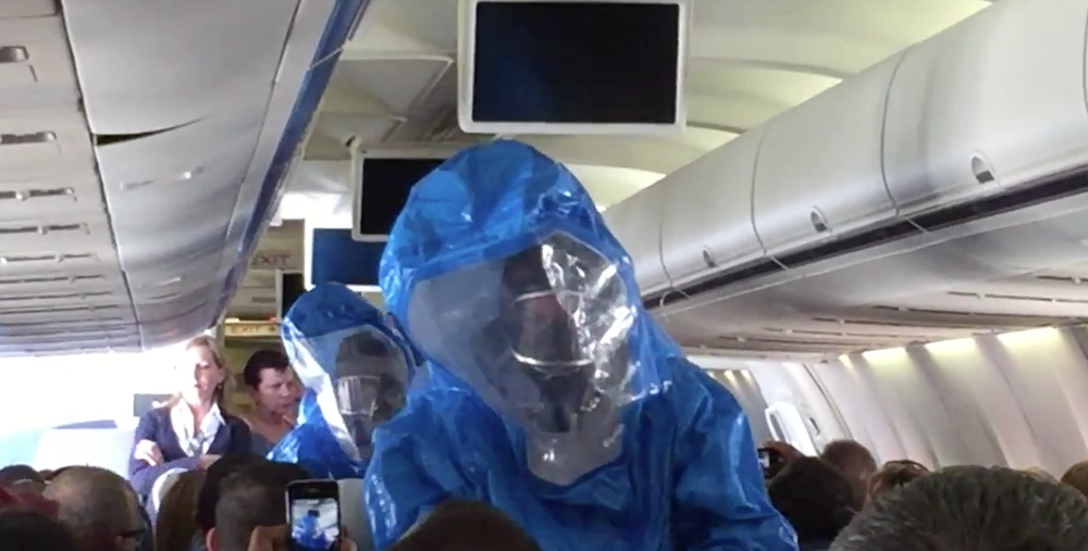 This is not a still from the movie 'Outbreak' (image credit: Patrick Narvaez, YouTube)