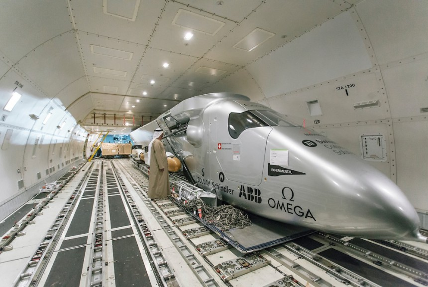Solar Impulse Inside.  (image credit:   SolarImpulse.com  )