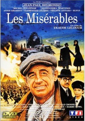 Poster for Lelouch's 1995 film  Les Misérables .