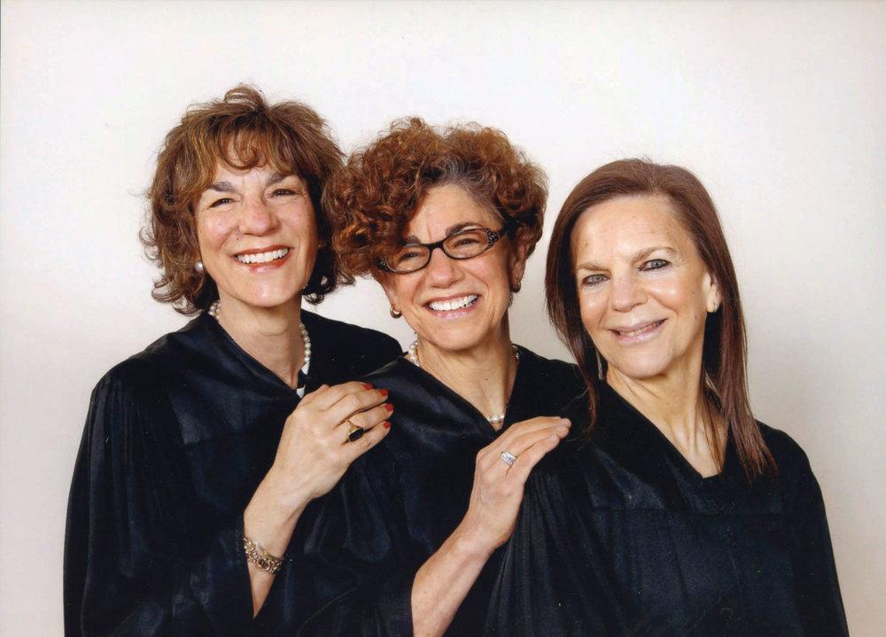 Roxane Leopold, Ellen Joseph, Linda Karshan, 2012.