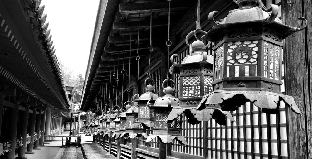 Wakamiya-Jinja Shrine, Nara, Japan 2014