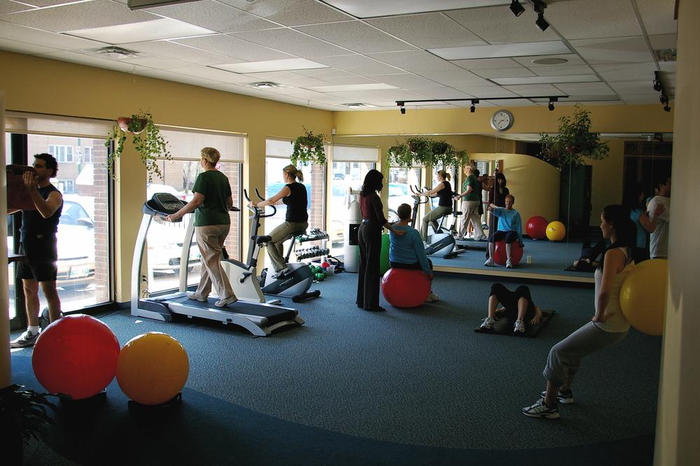 Beautiful Gym Area
