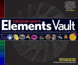 "My publisher wanted to create a follow-on book to The Elements sooner than I was able to produce one, so I ended up partnering with my friend Simon Quellen Field to produce this work. ""Vault book"" means it's got little envelopes and bits of real elements scattered in it. It's a nice book, but frankly, if you're only going to get one, get the  original Elements book . The Vault book is available from  bookstores  and  online retailers ."