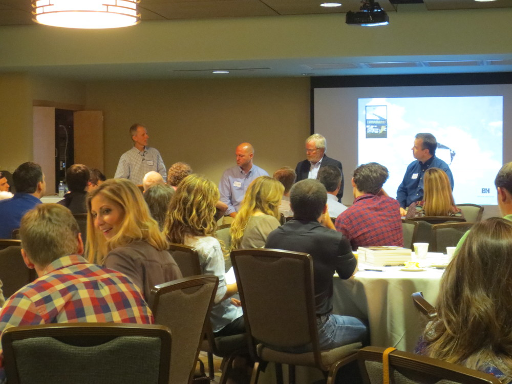 Sharing some of their own story, the panel included Daniel Moore, Richard Anderson, and Dan Carpenter.