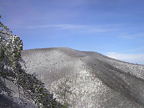 Big Frog Mountain in the winter